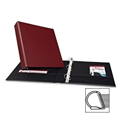 Avery Products - Avery - Durable EZ-Turn Ring Reference Binder, 11 x 8-1/2, 1-1/2\