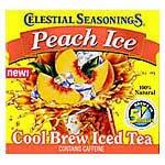 Celestial Seasonings Cool Brew Teas Peach Ice 40 tea bags (a) Celestial Bath