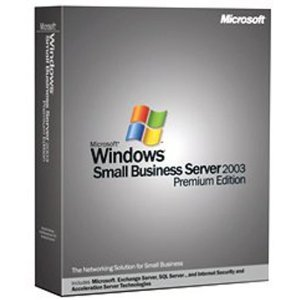 Microsoft Windows Small Business Server Premium 2003 English (5 Client) [Old Version]