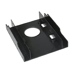 Dynamode SSD-RAIL 2.5 inch HDD or SDD Conversion Cradle for 3.5 inch Drive Bays