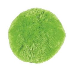 LIME GREEN PLUSH GUMBALL PILLOW
