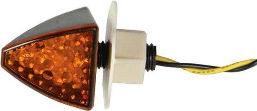 Dmp Led Marker Lights - Black Fuse - Flush/Panel Mount - Clear Lens 900-2031