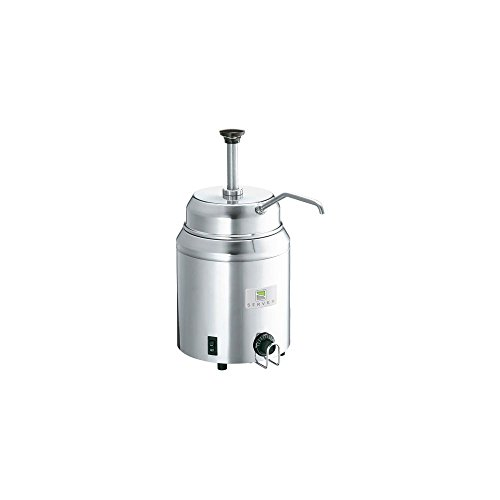 Server Products 82060 Hot Topping Warmer With Pump