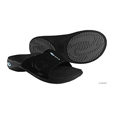 Sole Womens Sport Slide Black Sandals M