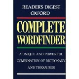 Readers Digest Oxford Complete Wordfinder