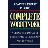 Readers Digest Oxford Complete Wordfinder