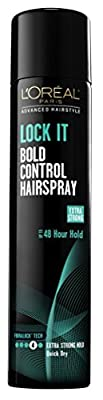 Loreal Lock It Bold Control Hairspray 8.25oz
