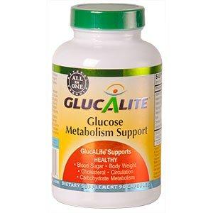 GlucALite: All In One Blood Glucose Support, 90 capsules