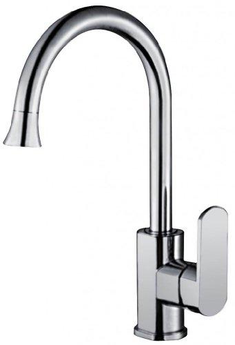 Lovely Kingsun Water Faucet Water Mixer Basin Faucet Basin Bathroom Sink Faucet Brass Zinc Alloy Handle Ceramic Spool Single Handle Deck Mount Faucet Perfect Hose