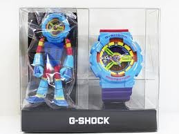 Casio Gshock Man Limited Edition Hyper Colors Most Head Exploding Watch in the World Ga110f-2 Ga110 Rare Gshock Toy Watch