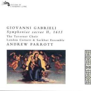 Gabrielli: Symphoniae Sacrae II