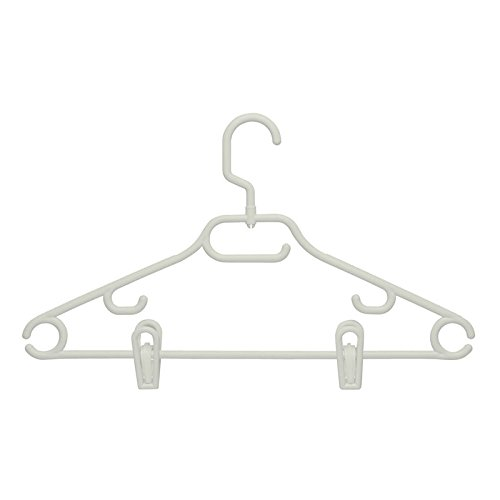 Swivel Hangers with Dress Notch and Clips - 18 Pack