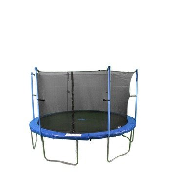 Upper Bounce Trampoline and Enclosure Set Equipped with The New Upper Bounce Easy Assemble Feature, 15-Feet