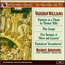 Vaughan Williams: Fantasia on a Theme by Thomas Tallis; 'Dives and Lazarus'; Flos Campi; Fantasia on 'Greensleeves'