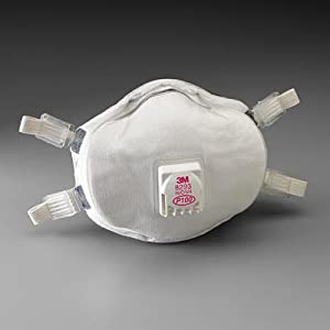 Amazon.com: 3M 8293 P100 Disposable Particulate Cup Respirator with