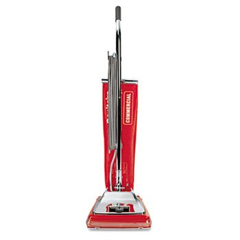 Electrolux Sanitaire Quick Kleen Commrcl Vacuum w/Vibra-Groomer II, 17.5lbs, Red