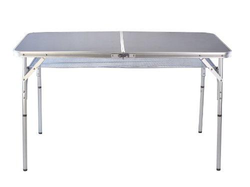 Camelot Folding Table 120 cm x 60 cm - Aluminium