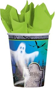Mostly Ghostly Paper Cups