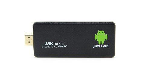 MK 809 III Quad Core HDMI Mini PC TV Box