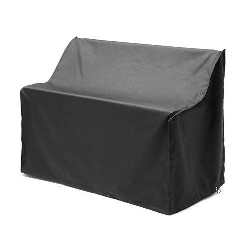 Remarkable Cheap Gardenista Black 3 Seater Outdoor Garden Bench Cover Short Links Chair Design For Home Short Linksinfo