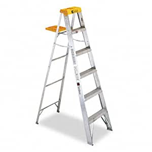 Davidson Ladders, Inc. 428 Six-Foot Folding Aluminum Step Ladder