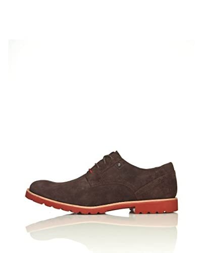 Rockport Scarpa Plain Toe [Marrone]