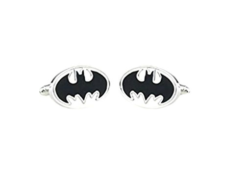 Superheroes DC Comics Batman Logo Cufflinks