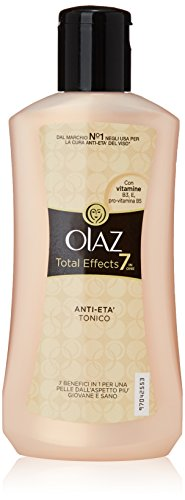 Olaz - Tonico Anti-Eta' 7 in 1, con Vitamine B3, E, pro-Vitamina B5 - 200 ml