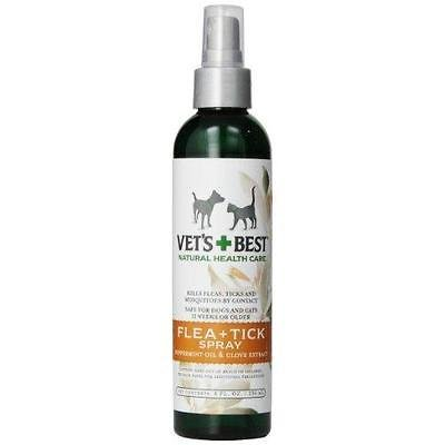 All Natural Vets Best Flea & Tick Spray, 8-ounce (Knockout Spray compare prices)