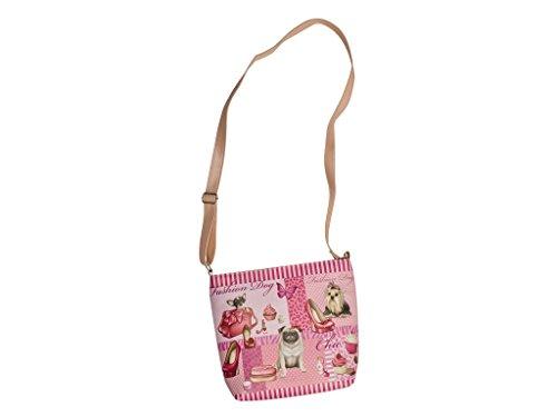 'Beautiful Shoulder Bag in Fashion Dog Design 30007