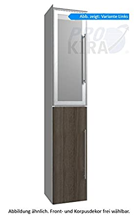 Classic Line Puris (HNA033B7L / R Tall Cupboard Bathroom Cupboard 30 CM