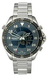 Hamilton Khaki Pilot Flight Timer Quartz Men's watch #H64554131