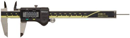 Mitutoyo ABSOLUTE 500-193 Digital Caliper, Stainless Steel, Battery Powered, Inch/Metric, 0-12