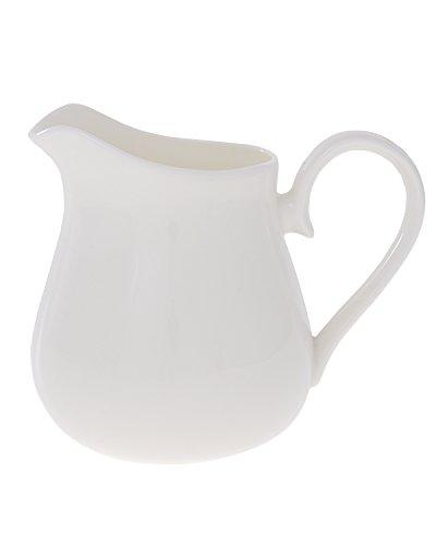Bouton d'or Porcelaine anglaise Grand pichet en porcelaine Fine Blanc