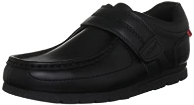 Kickers Boys Fragile Strap3 YM Loafers 1-11942 Black 3 UK, 36 EU