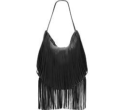 Vince Camuto Irene Hobo Bag, Black, One Size