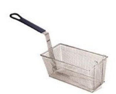 Pitco P6072188 Twin Size Basket, 17-1/4 x 8.5 x 5-3/4 in D, Fines Mesh, Model SG18, Each