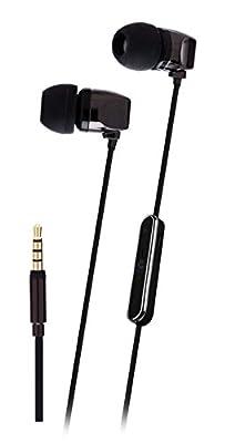 Headphones, Francois et Mimi Elite Apple MFI-Certified 3.5mm In-ear Noise-isolating Earbuds Headphones with Mic, Retail Packaging!