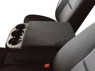 Chevy Silverado 2007-2013 Truck Auto Center Console Armrest Cover Protects from Dirt and Damage Renews old damaged consoles- Black (Silverado Center Console Box compare prices)