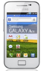Cell phone deals online   Samsung Galaxy Ace S5830 (Le Fleur White): Brand New Original Samsung Unlocked Android GSM Phone