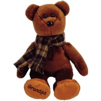 TY Beanie Baby - GRAMPS the Grandfather Bear (Internet Exclusive)