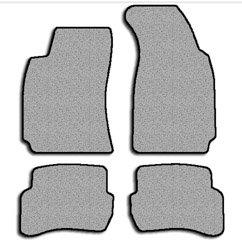 Volkswagen Passat Simplex Carpeted Custom-Fit Floor Mats - OVAL GROMMETS 4 PC Set - Medium Gray (1998 1999 2000 2001 2002 2003 2004 2005 98 99 00 01 02 03 04 05)