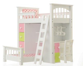 American Girl Loft Bed 177168 front