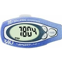 6ILSSH Sportline Walking Advantage 342 Distance Pedometer