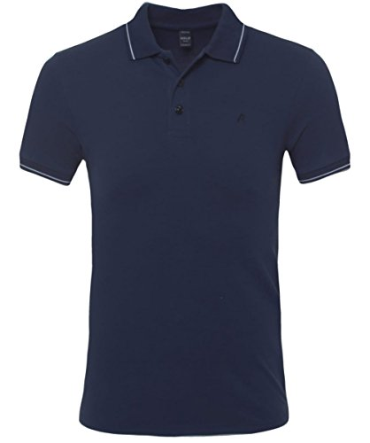 Replay Polo classica Blu XXL
