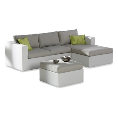 BEST 98702305 3-teilig Chaise-Lounge Kuba Seitenteil links