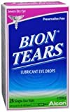 Bion Tears Single-Use Vials in 28-Count Boxes (Pack of 6)