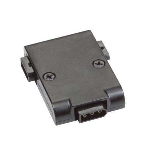 Kichler Lighting 12340BK Design Pro 24V T Power Connector, Black Finish