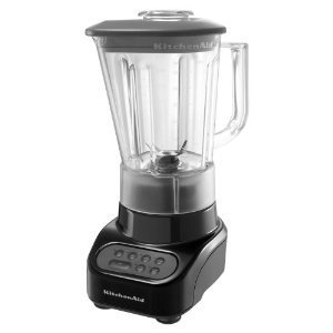 KitchenAid KSB465OB 4-Speed Countertop Blender with 48-Ounce Polycarbonate Jar, Onyx Black