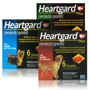 Merial Heartgard Plus for Dogs BROWN,51 - 100 lbs. 6 Month Supply Heartworm